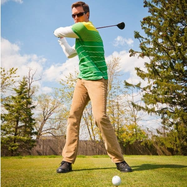 Shorten Your Backswing